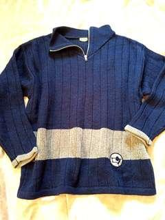 🚚 Marese 全新 藍色 長袖毛衣 愛的世界#半價衣服拍賣會