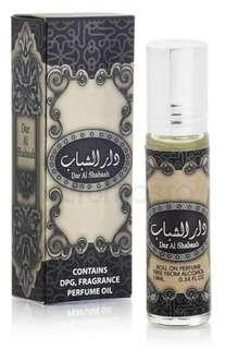 🚚 Dar Al Shabab Roll On Perfume Oil