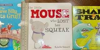 Children's Hardboard Books for early readers