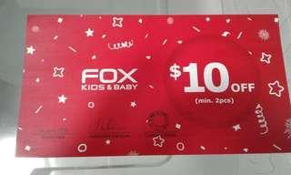 Fox Kids & Baby Voucher