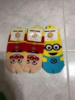 小童公仔襪