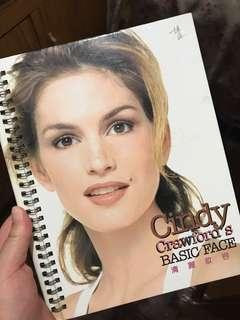 Cindy Crawford's basic face 化妝 入門 名模