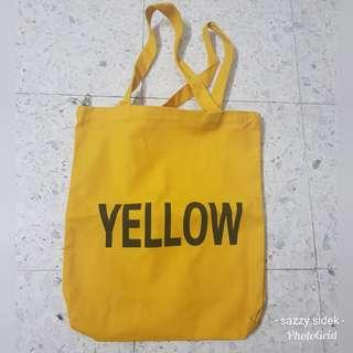 Canvas Bag ( Yellow )
