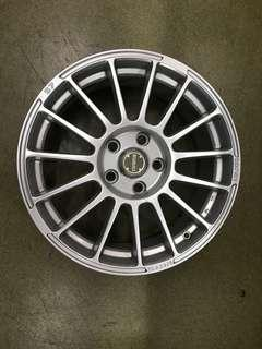 """17"""" 5x114 rays made in japan"""
