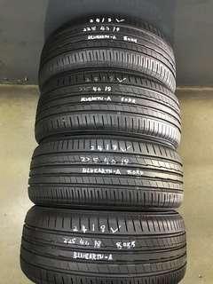225/40/18 yokohama used tyre