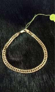 18K mens bracelet