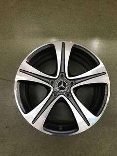 "17"" 5x112 et40 mercedes new car trade in wheel"