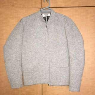 Mango Grey Bomber Jacket