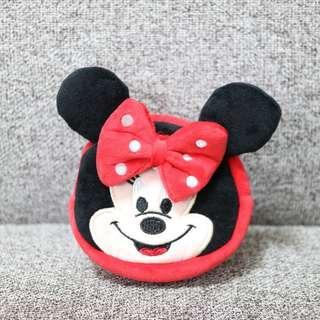 🚚 可愛 迪士尼 米妮 化妝包 萬用包 收納小包
