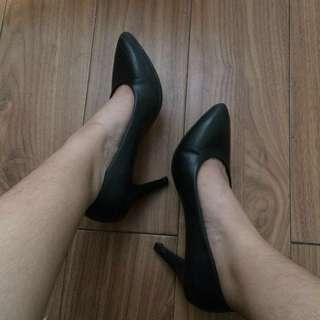 Chelsea Black High Heels