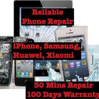 Phone repair, LCD Repair, screen Repair, Mobile Repair