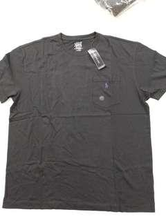 nwt NWT polo Ralph Lauren black pocket tee classic M