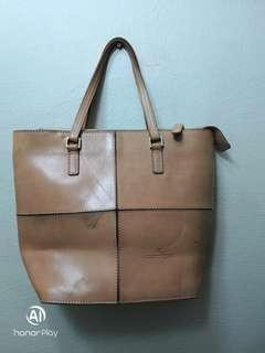 Courreges Leather tote bag