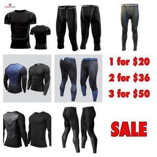 🚚 Compression tights wear for all sports