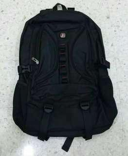 Black Laptop Backpack / Black Backpack