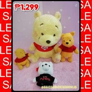 Winnie-the-Pooh Stuffed Toy Bundle Sale