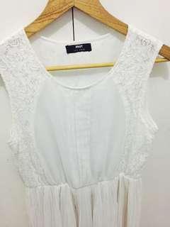 Semi Formal White Dress