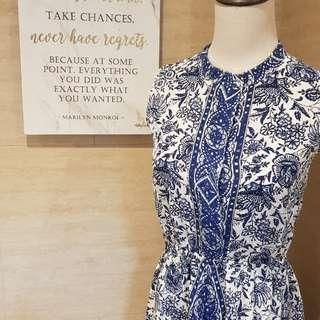 Printed Dress (Silk)