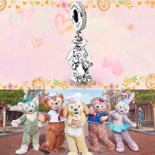 🚚 Pandora Hong Kong Disneyland Exclusive Bracelet & Charms