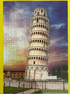 Trefl 1000 pc Pisa Tower Puzzle
