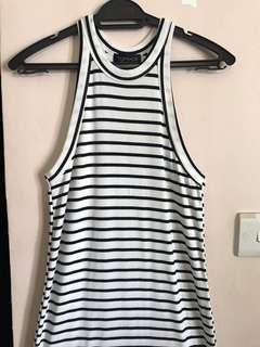 TOPSHOP Halter Neck Bodycon Dress