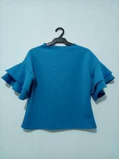 ON HAND TWO LAYER BLOUSE