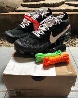 🚚 Nike off white vapor max