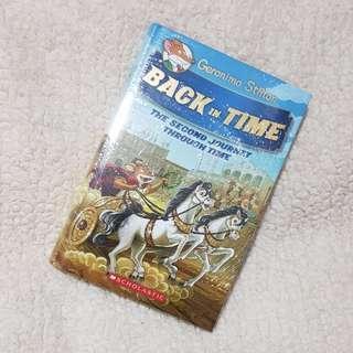 Geronimo Stilton Back in Time Hardbound Special Edition