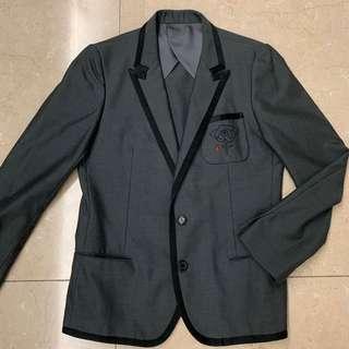 Undercover Grey Suit Jacket