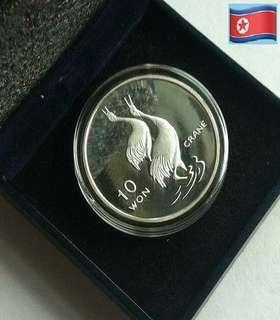 👉🇰🇵 Π. KOREA - 1 Troy Oz. 999 Fine Silver Proof coin