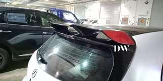 Revozport Roof spoiler for Mercedes Benz W176 A Class