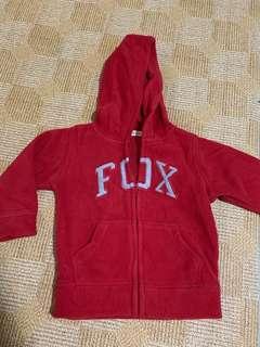 🚚 Fox kids jacket. Zipped hoodie jacket for kids