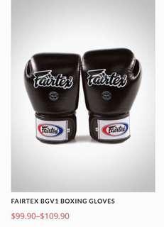 🚚 Fairtex shin guard or gloves