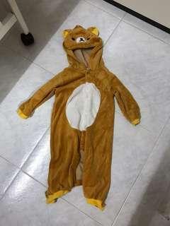 鬆弛熊夾衣