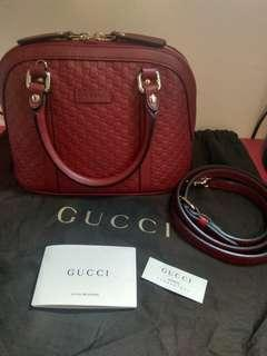 Authentic Used Gucci Alma