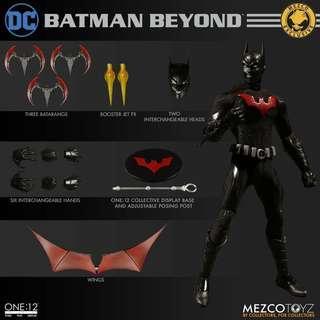 Mezco Toyz Exclusive One:12 Collective Batman Beyond MISB