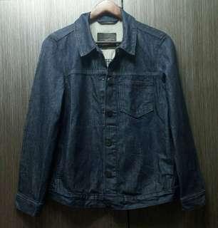 🚚 正品Levis黑標R版 男女可穿深藍色牛仔外套M