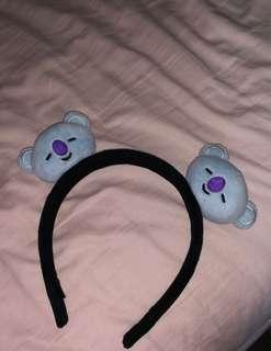 authentic bt21 koya headband