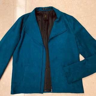 Ato Blue Suede Jacket