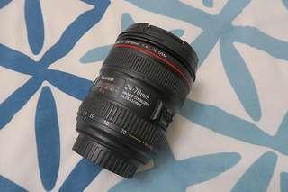 Canon EF 24-70mm f/4 IS USM Macro lens