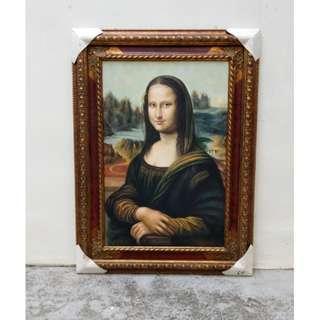 Oil Painting Of Leonardo DaVinci's Monalisa