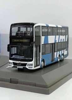 (徵) 1:76 巴士模型-彭順國際 GML 猛獅 Gemilang International MAN A95 FACELIFT 1/76 Bus Model