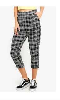 🚚 Woven Checkered pants