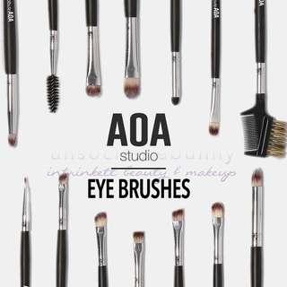 🚚 Eye Makeup Brushes AOA Studio by US Instock Drugstore Cosmetics