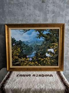 Balinese Painting by Indonesian Artist