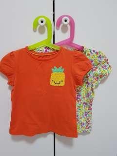 Mothercare Tshirt x 2
