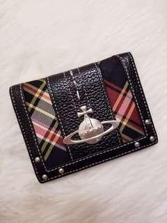Vivienne Westwood Card Holder VW tartan checked Card case 卡套 有相位 古著 購自日本