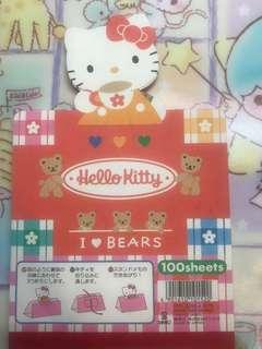Hello Kitty信紙
