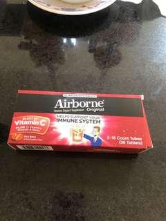 Airborne berry favor 36tablets