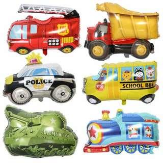 🚚 Transport Vehicle Foil Balloon (with helium)